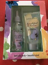 New Gorgeous Bath & Body Gift Set Beautiful Balance Shower Gel & Body Spray