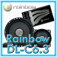 Rainbow dl-c6.3 Dream Line 16,5 cm 3 voies composants système DL-C 6.3