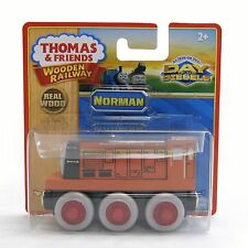 NORMAN Thomas Tank Engine Wooden Railway NEW IN BOX Day of the Diesels - Retired
