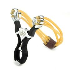 Sling Shot Slingshot catapult Hunting Powerful Stainless steel Outdoor Bow