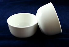 Small porcelain bowl white 7.7cm hotel food rice soup dessert pudding salad new