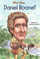 Who Was Daniel Boone?-ExLibrary