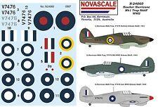 RAAF Hurricane Mk1 Trop WWII Decals 1/24 Scale N24060
