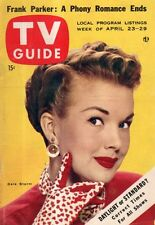 1955 TV Guide April 23 - Gale Storm; Barbara Bates; Laurel and Hardy; Liberace