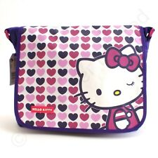 Hello Kitty Hearts Messenger Bag use for School Book Bag NEW  22535