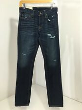 HOLLISTER BOY/TEEN BUTTON FLY SKINNY JEANS 28/30 NWT