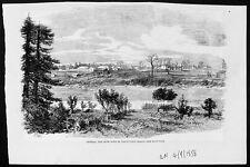 1858 ILN Antique Prin of Victoria Vancouver Isle Canada
