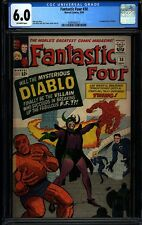 Fantastic Four 30 CGC 6.0 Silver Age Key Mavel Comic IGKC L@@K