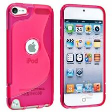"""4"""" Apple iPod Touch 5 5G 5th Gen Soft TPU S shape Skin Cover Case"""