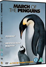 MARCH OF THE PENGUINS - DVD - REGION 2 UK