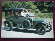POSTCARD CAR WOLSLEY 1912 LIMOUSINE CAR