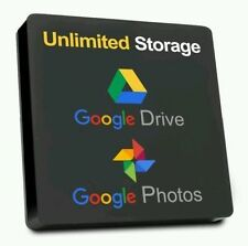 UNLIMITED Google Drive LIFETIME cloud storage account from 100% super admin