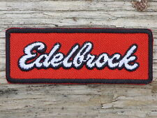 ECUSSON PATCH THERMOCOLLANT aufnaher toppa EDELBROCK automobile moto motorcycle