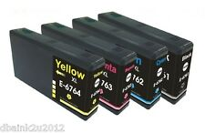 4 Pack Non-OEM ink 676XL for EPSON WORKFORCE PRO WP-4530