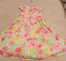 Gymboree Pretty Posies Flower Open Back Dress For Summer Wedding 12 NWT