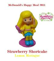 "2011 McDonald's Happy Meal Toy Strawberry Shortcake #4 Lemon Meringue 4"" Figure"