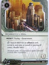 Android Netrunner lunaires - 1x mumbad City Hall #055 - Democracy and dogme