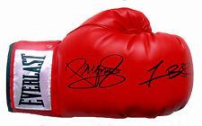 Manny Pacquiao & Timothy Bradley/Dual Firmado Everlast Guante de Boxeo