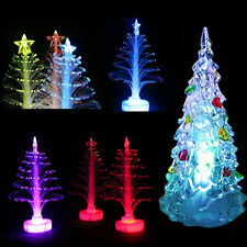 1pc Xmas Tree Color Changing LED Light Lamp For Home Party Decorations Ornaments