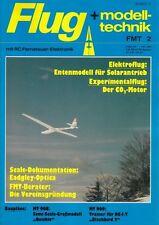 """FMT8502 Bauplan MT-909 """"BLACKBIRD 2"""" ein RC-Motormodell + FMT 2/1985"""