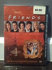 THE BEST OF FRIENDS - SEASON 4 FOUR DVD (The Top 5 Episodes) NEW
