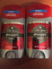 2x Old Spice Swagger Deodorant Red Zone Collection 2.25 oz. Scent Of Confidence