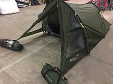 Eurohike Backpacker 2 man two berth lightweight hiking day fishing tent green