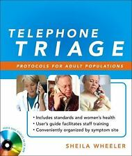 Telephone Triage:  Protocols for Adult Populations, Sheila Wheeler