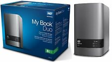 WD 8TB My Book Duo Desktop RAID External Hard Drive - USB 3.0 - WDBLWE0080J