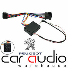 Peugeot 607 2002 On Car Radio Steering Wheel Volume Interface & FREE PATCH LEAD