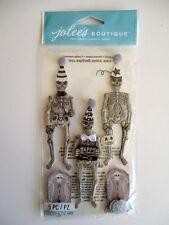 JOLEE'S BOUTIQUE STICKERS - SKELETONS halloween