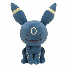 New Pokemon Center Original stuffed Transform Metamon Blacky Ditto Umbreon F/S