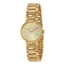 Marc By Marc Jacobs Peggy Gold-Tone Sunray Dial Ladies Watch MBM3405