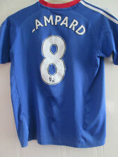 Chelsea 2010-2011 Home Football Shirt Size Large boys Lampard jersey /35312