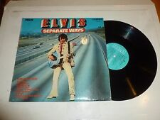 ELVIS PRESLEY - Separate Ways - Rare 1973 10-track UK LP