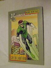 MINT DC COMICS DC COSMIC BASE CARD IMPEL 1991 #9 MODERN AGE GREEN LANTERN