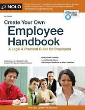 Create Your Own Employee Handbook: A Legal & Practical Guide for Employers by G
