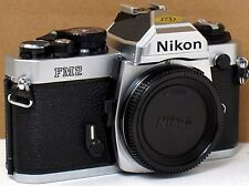 *** NEAR MINT  *** Nikon FM2N 35mm Chrome Camera Body