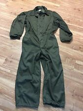 MECHANICS COLD WEATHER INSULATED COVERALLS UTILITY DUTY US MILITARY OD SMALL NOS