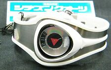 RARE VINTAGE CITIZEN INDEPENDENT JUMP HOUR WATCH WHITE UNISEX UNIQUE JAPAN