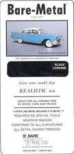 Bare Metal Foil Black Chrome foil sheet