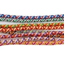 9pcs Lot Braid Strands Friendship Cords Handmade Hippie Boho Cuff Bracelets