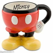Disney Parks Best Of Mickey Mouse Body Parts Ceramic Coffee Tea Mug Cup Cocoa