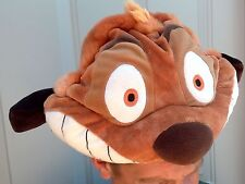 EURO DISNEY DISNEYLAND PARIS THE LION KING TIMON MEERKAT PLUSH 3D COSTUME HAT