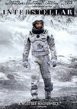 Interstellar (DVD & UV DIGITAL HD COPY) PACKED IN A BR CASE EXCELLENT CONDITION
