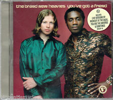 THE BRAND NEW HEAVIES - YOU'VE GOT A FRIEND (4 track CD single)//