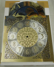 GRANDMOTHER CLOCK DIAL FOR TRIPLE CHIME CHAIN DRIVEN HERMLE GF  CLOCK MOVEMENT