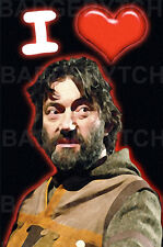 I LOVE (Heart) KNIGHTMARE - FRIDGE MAGNET - 80's TV CLASSIC!