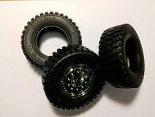 "Tamiya 1.7"" Tires 1/14 Semi Truck wide Tires"