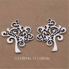"10pc Tibetan Silver Charm Pendant ""Tree of Life"" Accessories Jewellery   PL1227"